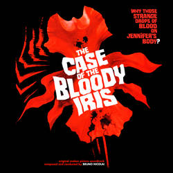 The Case of the Bloody Iris Soundtrack Jacket v.2