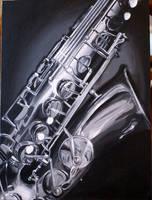 Saxomamaphone by PsychicPsycho