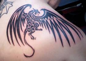 Dragon Tattoo by PsychicPsycho