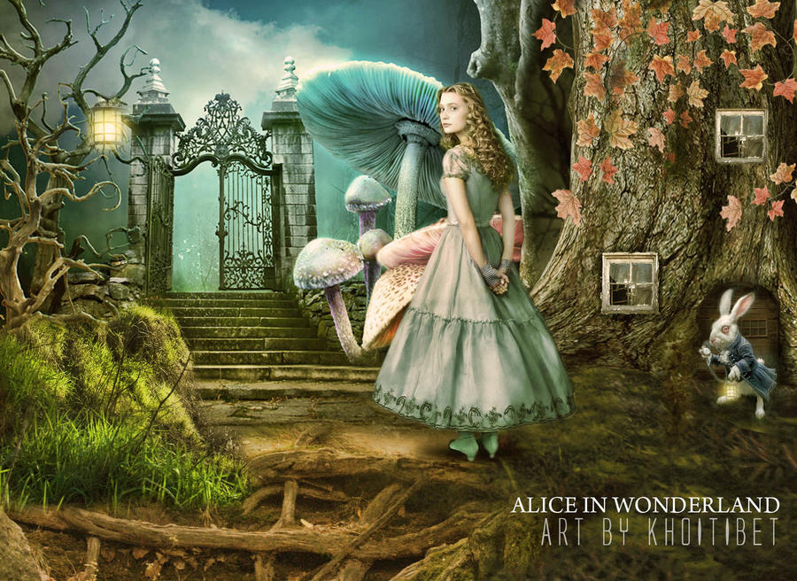 alice in wonderland cat wallpapers