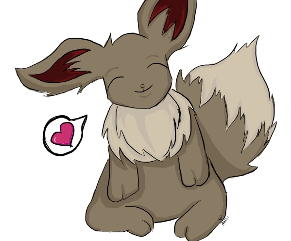 Hair Style Eevee: New Style By HopStepJumpDraw On DeviantArt
