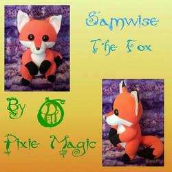 Samwise the Fox art doll