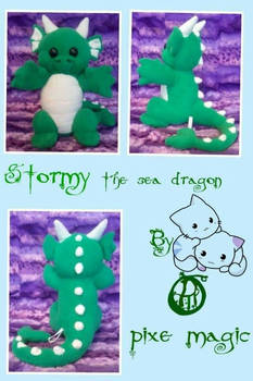 Stormy the sea dragon