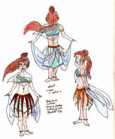 Bellydancer's Costume Design