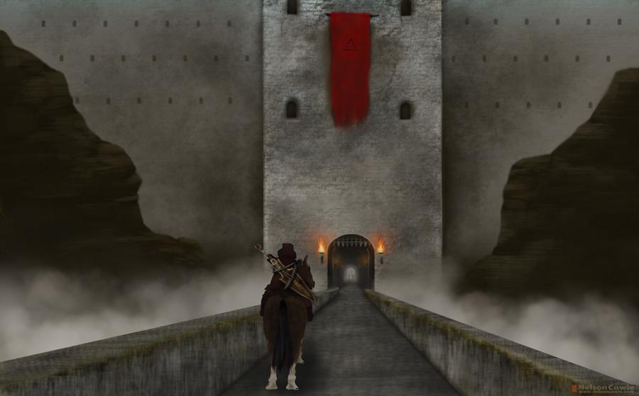 Castle Mountain by Turbosnail