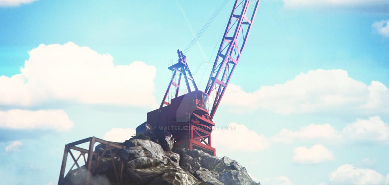 Crane by WalterJe