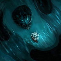 Drawtober 9 - Nautical Terror by Noctualis