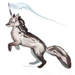 June Fox a Day - 2 Unicorn Fox