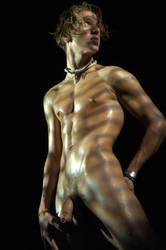 Theo oiled by sunboys