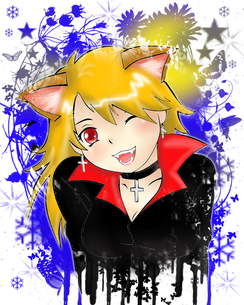 Vampire Princess Meow by CatViLu