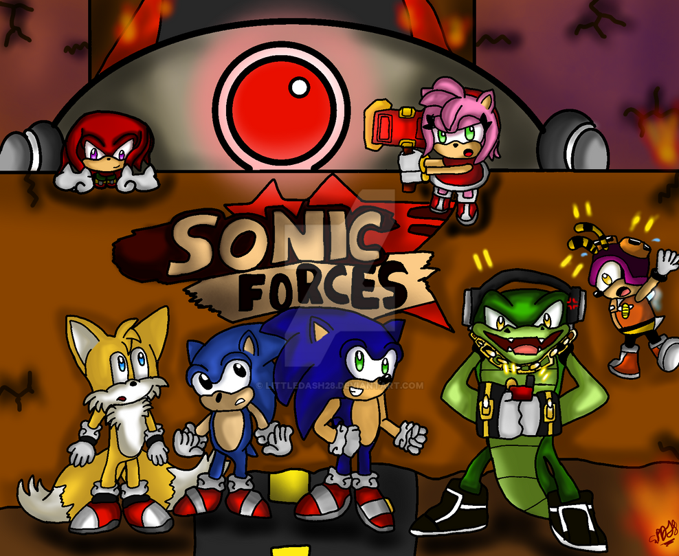 We Are The Sonic Forces! by LittleDash28