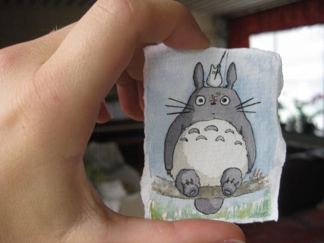 Tiny Totoro by bofink
