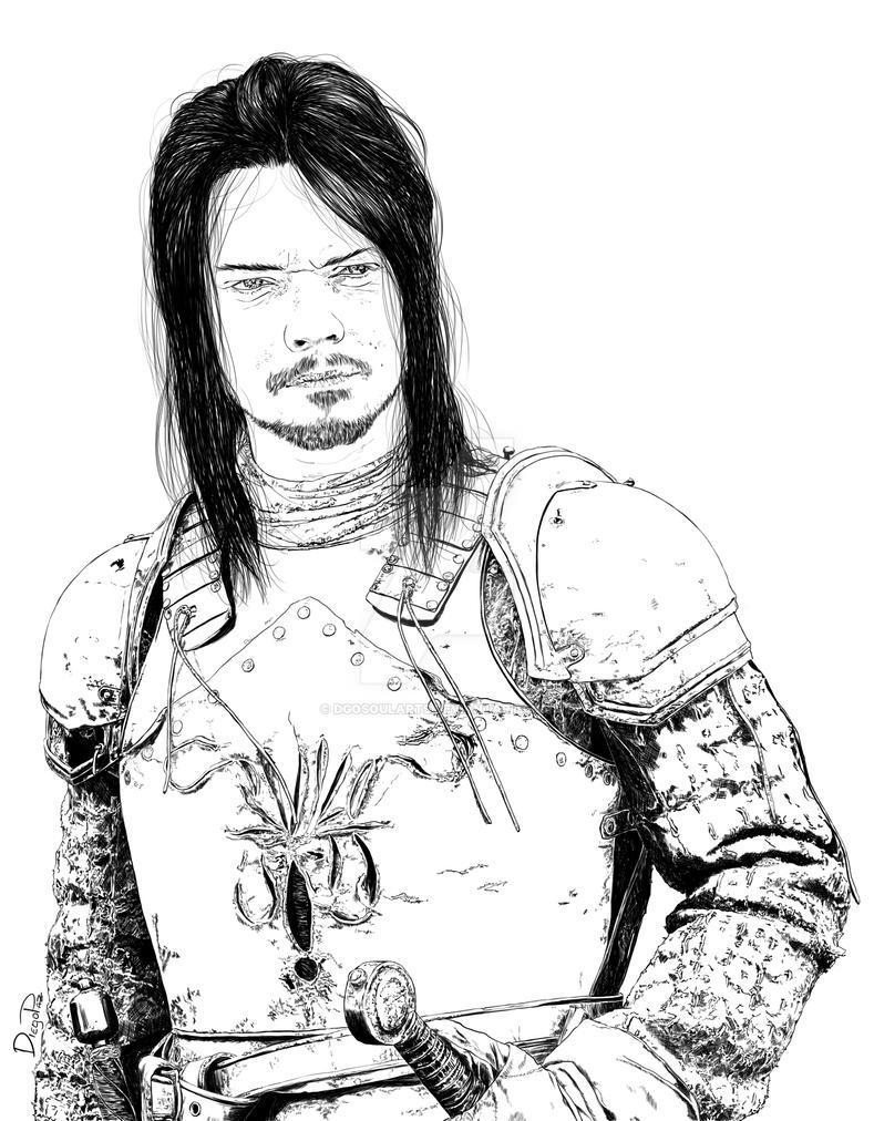 Theon Greyjoy by DgoSoulArts