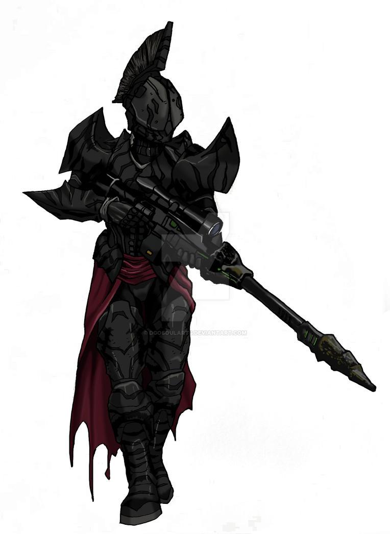 Destiny - Titan Andrecalta by DgoSoulArts