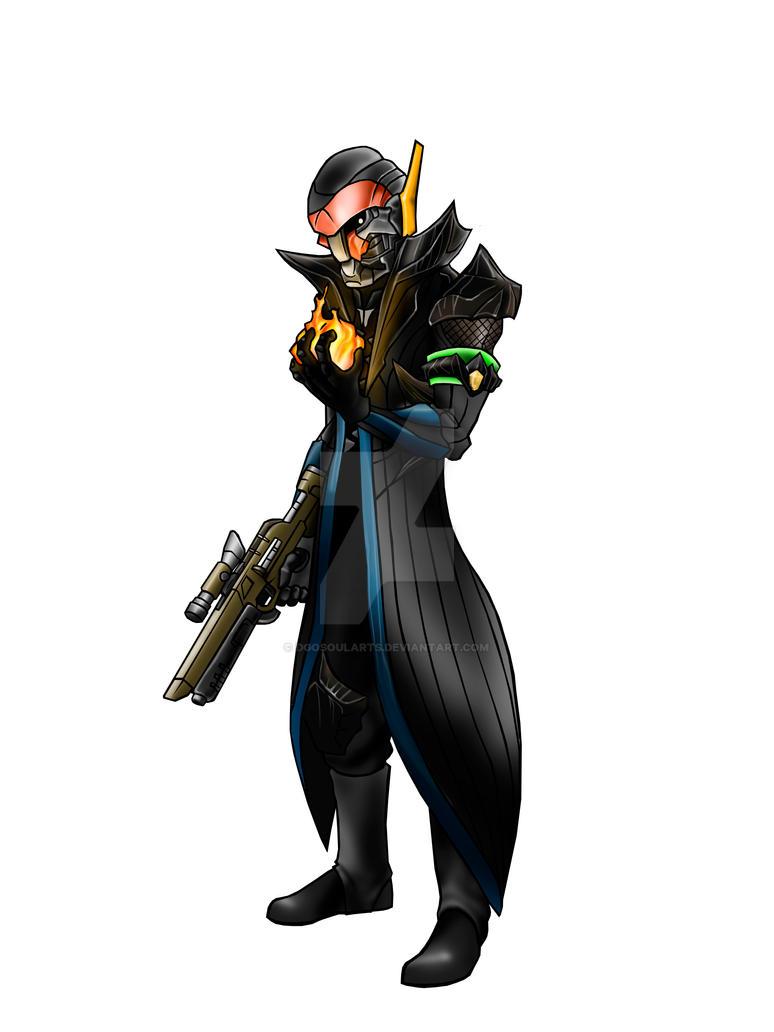 Destiny - Warlock DaviLopa by DgoSoulArts