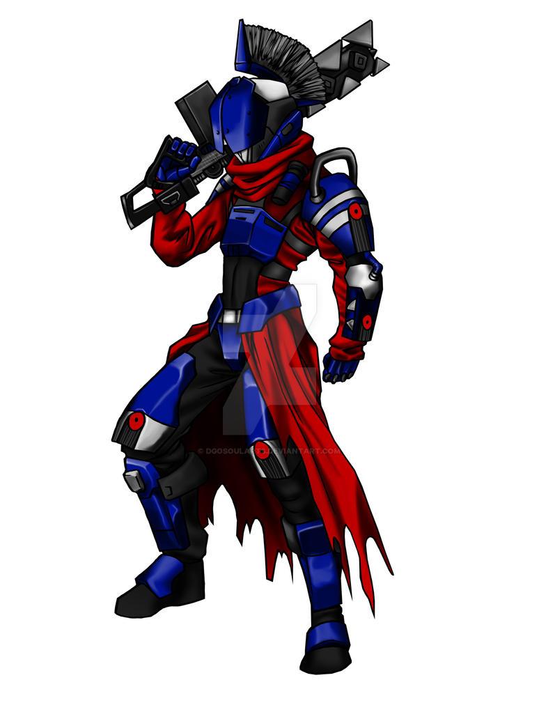 Destiny - Titan MajorWesker - My Char =D by DgoSoulArts