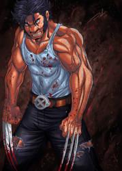Wolverine Weapon X by DarkerEve