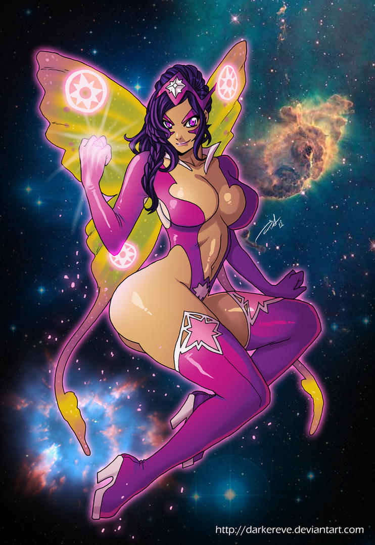 Commission Twinkle Twinkle little Star Sapphire by DarkerEve