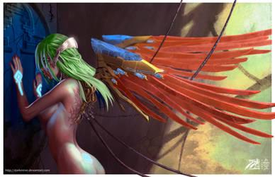 Steel Angel  by DarkerEve