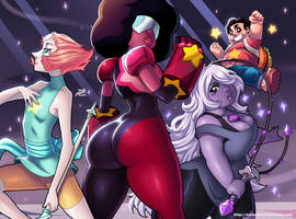 The Crystal Gems by DarkerEve