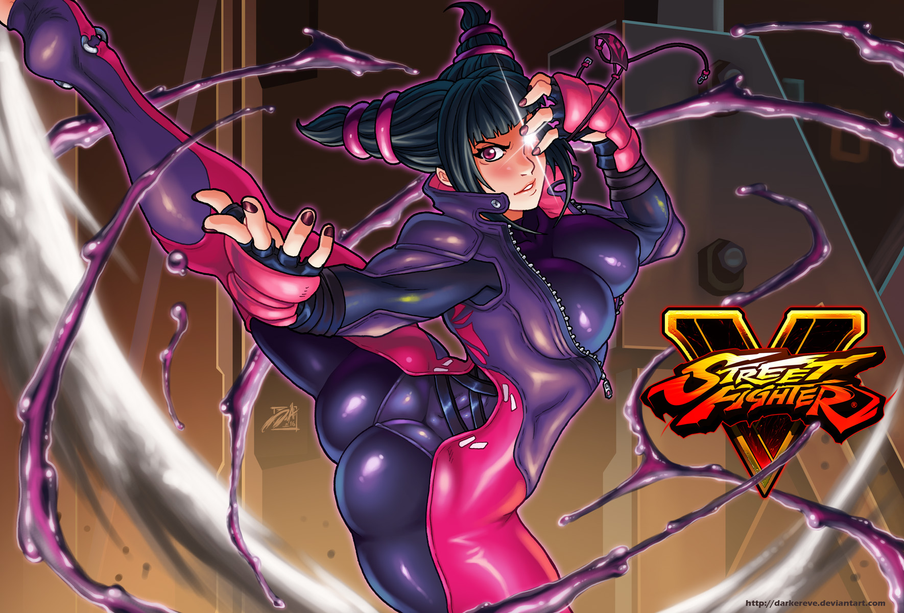 Juri SFV by DarkerEve