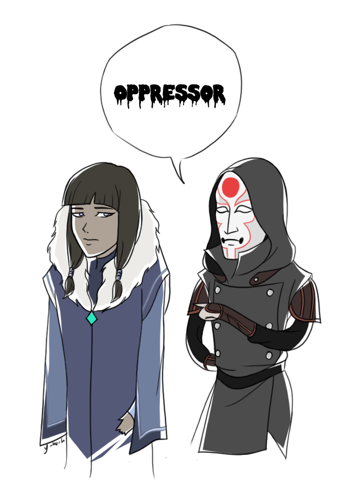 What Amon thinks of Eska by citizen17