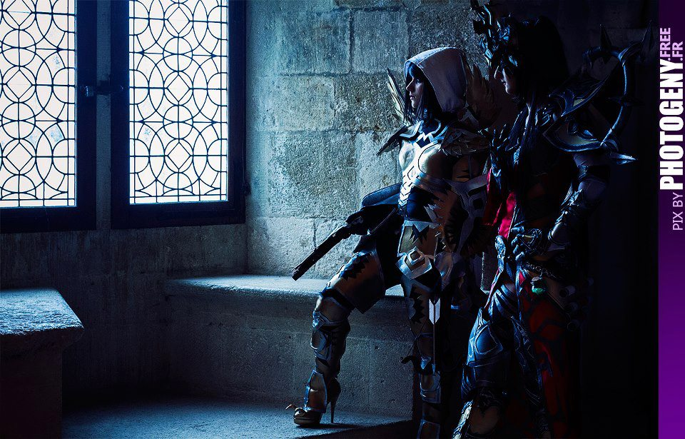 Diablo 3 Demon Hunter and Wizard by Kotori-Cosplay