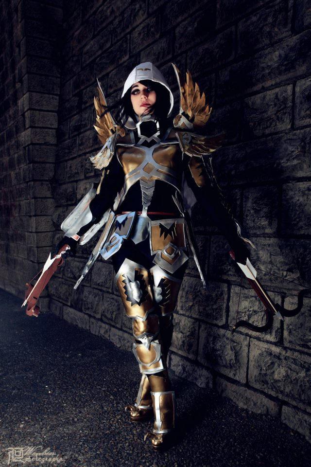 Demon Hunter Diablo3 Cosplay