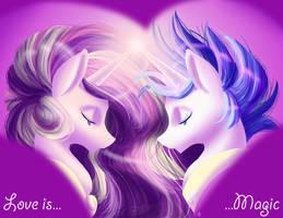 Mi Amore Shining Hearts by MirrorandImage