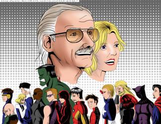 Stan Lee Tribute by MirrorandImage