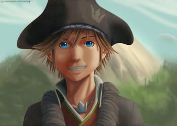 Pirate Sora by MirrorandImage