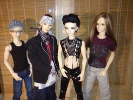 Tokio Hotel BJDs Preview