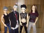 Tokio Hotel BJDs Preview by idrilkeps