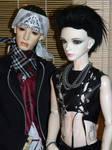Bill and Tom Kaulitz BJDs
