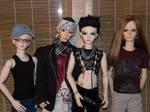 ToHo .:I:. Tokio Hotel BJDs by idrilkeps