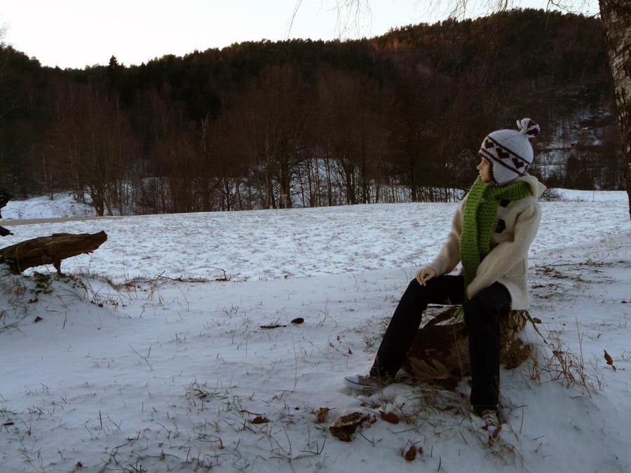Winter in the Park - Georg II