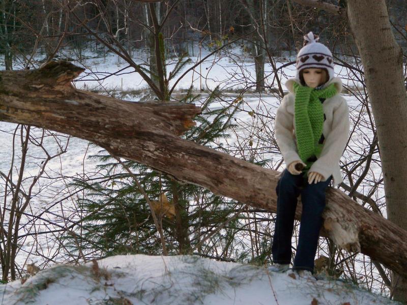 Winter in the Park - Georg III