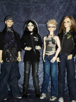 ToHo - Tokio Hotel BJDs
