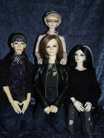 ToHo - Tokio Hotel BJDs by idrilkeps