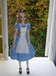 Mio as Alice in Wonderland I