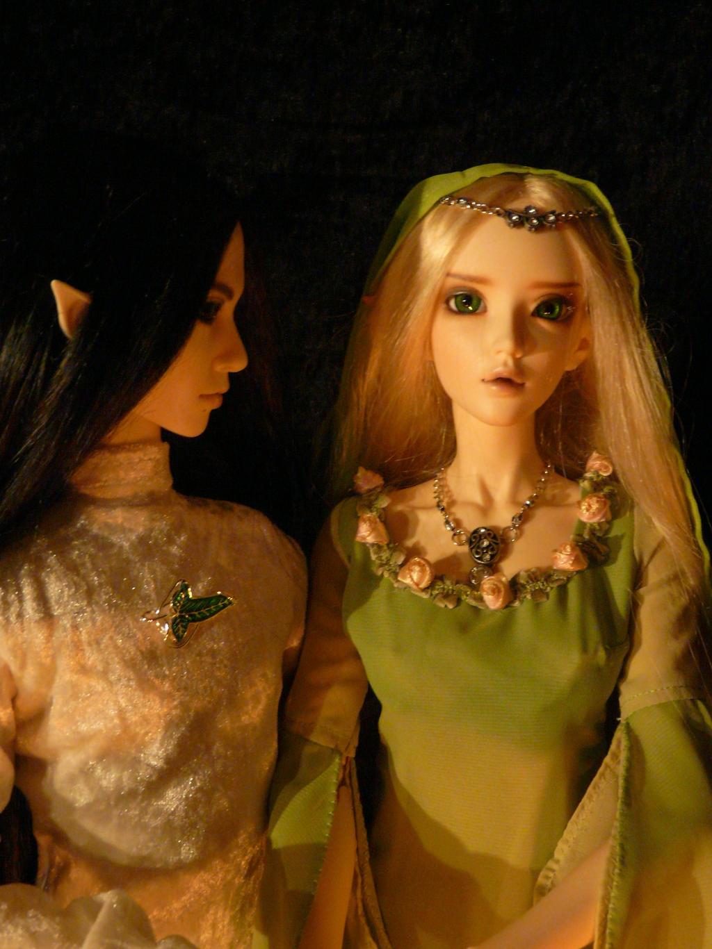 Elrohir and Solinde