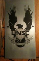 UNSC Metal Plaque