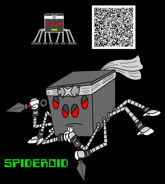 Spideroid by KingMonster