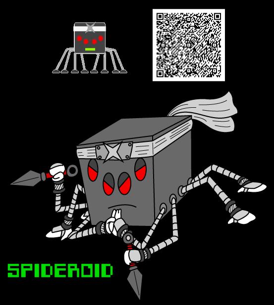 Spideroid by KingMonster