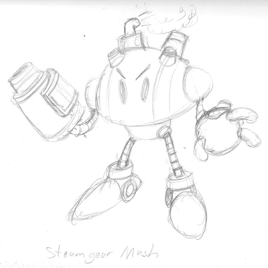 Steamgear Mash by KingMonster