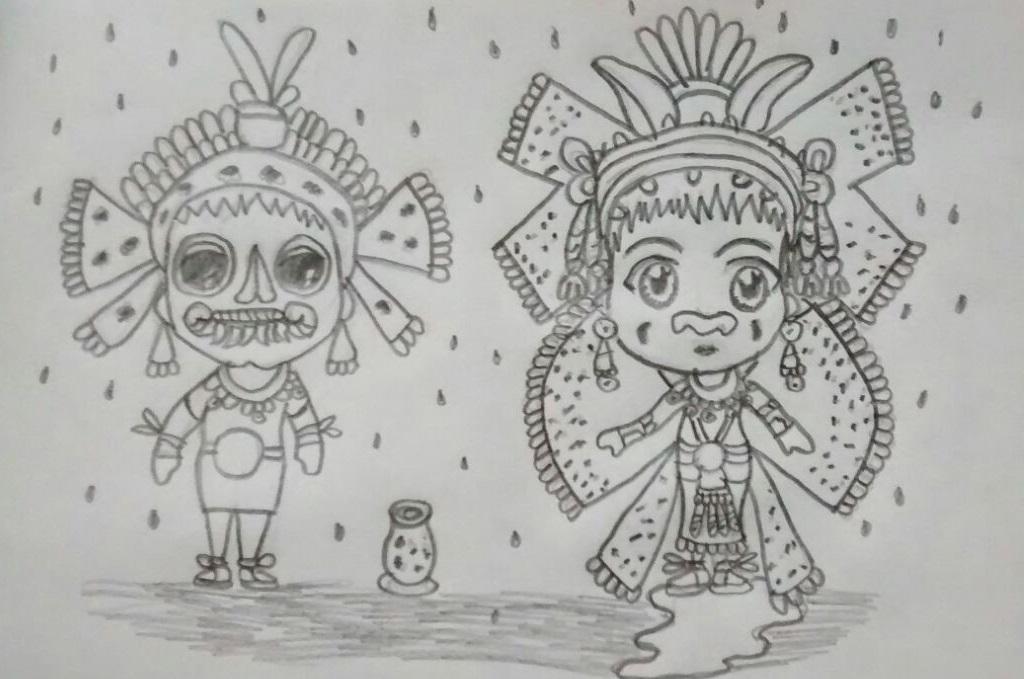 Tlaloc y Chalchiuhtlicue by wilber789