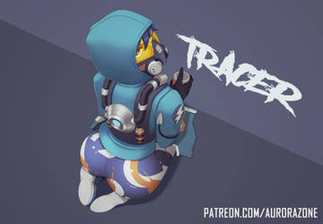 Graffiti Tracer (Overwatch) - Ecchi / Hentai