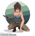 Lara Croft Fighting (Tomb Raider) - Ecchi / Hentai