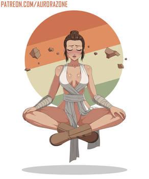 Rey Meditating (Star Wars) - Ecchi / Hentai / Nude