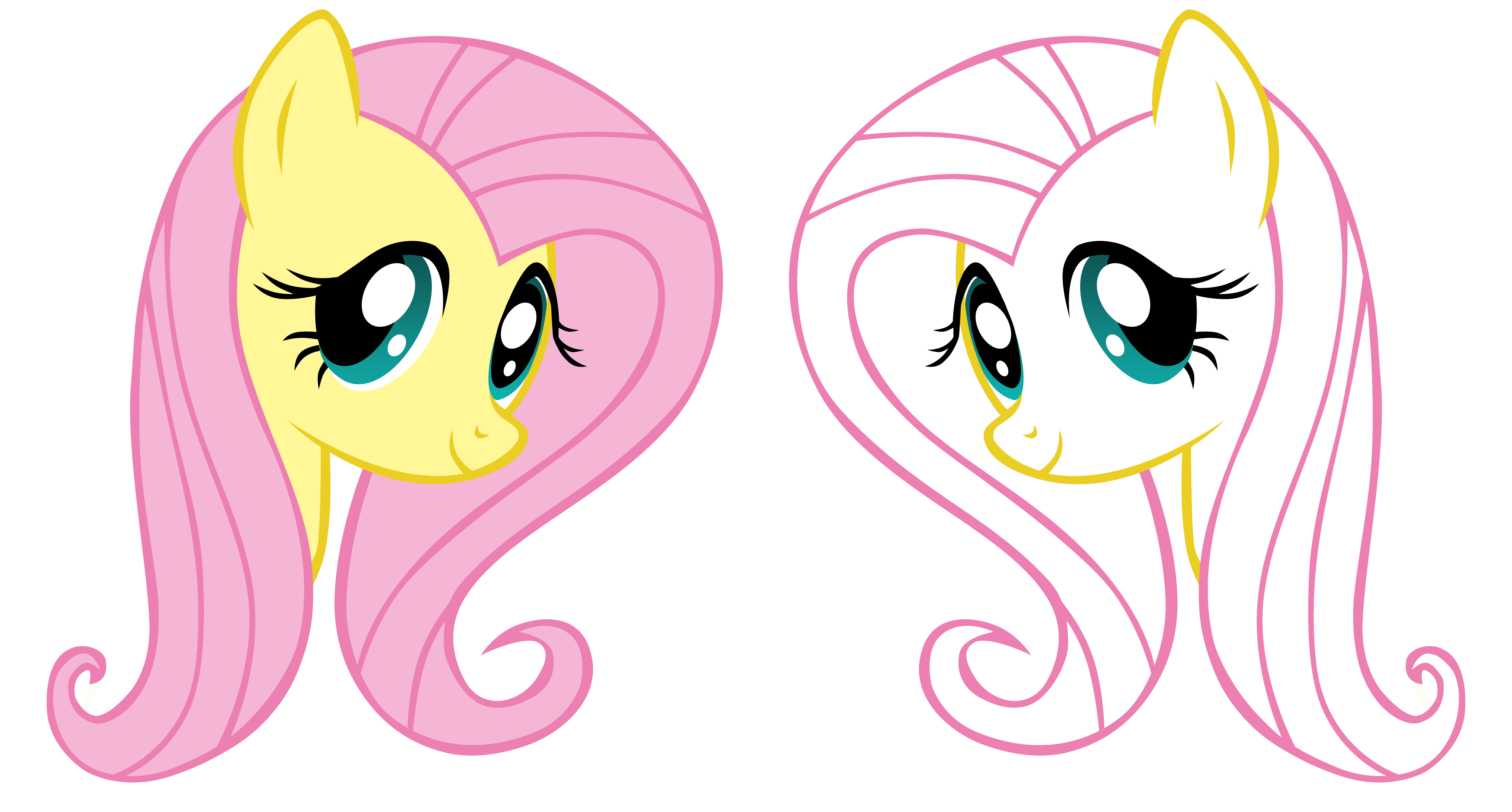 Holiday Coloring Pages twilight sparkle coloring pages : Fluttershy Vector by NiravienaMLP on DeviantArt